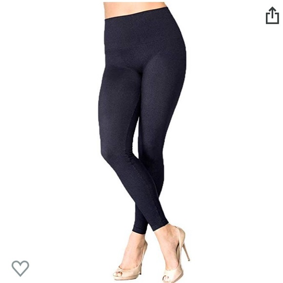 873166793fcfb8 SPANX Pants | Love Your Assets Shaping Seamless Denim Leggings ...